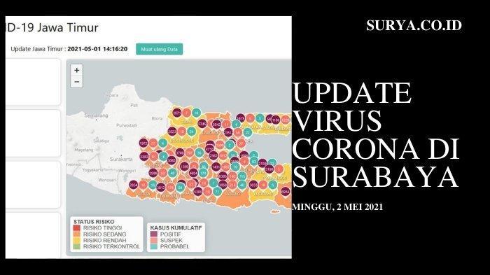 Update Virus Corona di Surabaya 2 Mei 2021: Berikut Titik Penyekatan Jalan dan Antar Daerah di Jatim