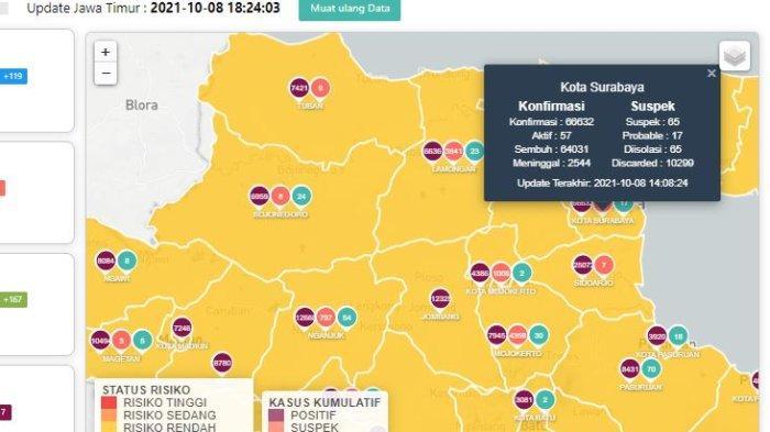 Update Virus Corona di Surabaya 9 Oktober: Covid-19 Naik 10, Taman Hutan Raya & Mangrove Siap Dibuka