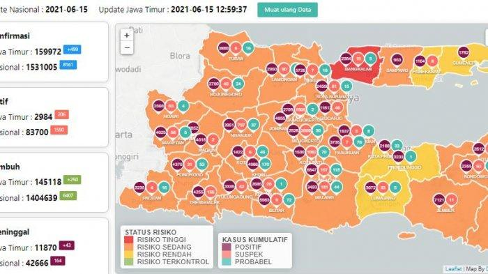 Update Virus Corona di Surabaya 16 Juni: Temuan Varian Baru Covid-19 dan Aturan Baru PPKM Mikro