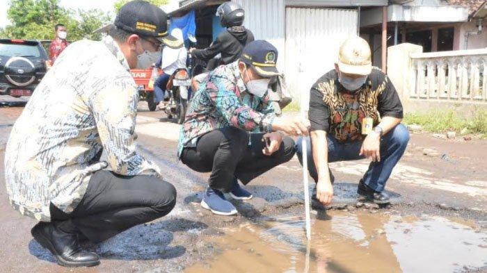 Wakil Bupati Sidoarjo Subandi Janji Perbaikan Sejumlah Jalan Selesai Sebelum Lebaran