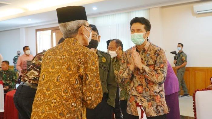 Status Level PPKM di Jatim Menurun, Wagub Emil Ajak Anggota PEPABRI Semangat Kampanyekan Prokes