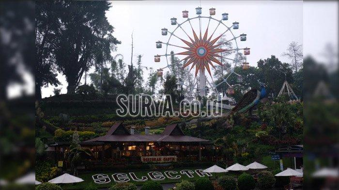 Ada Bianglala di Lokasi Wisata Selecta, Cukup Rogoh Kocek Rp 10.000 untuk Lihat Pemandangan Indah