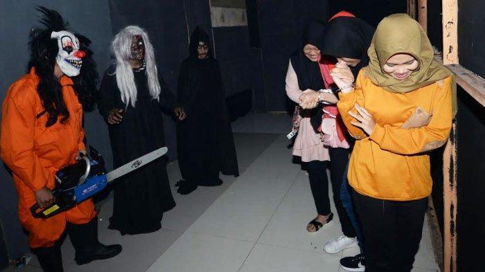 Wahana Paranoia Hadir di Surabaya, Ada Rumah Berhantu, Virtual Reality, dan Escape Room