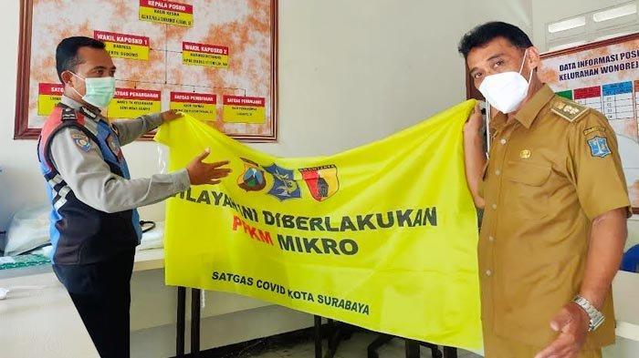 Warga Wonorejo Surabaya Tegakkan Protokol Kesehatan Hingga Jadi Zona Hijau