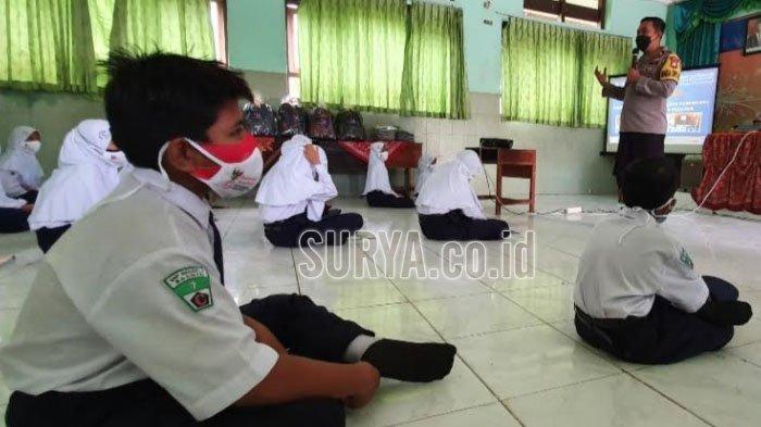 PTM Terbatas di Kabupaten Pasuruan Dimulai, Pelajar Diberi Motivasi Agar Tetap Semangat