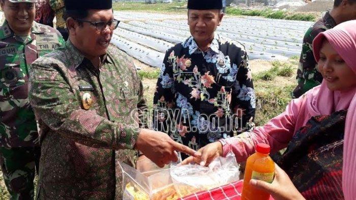 Kodim 0829 Bangkalan Pamerkan Beragam Produk Olahan Warga Kecamatan Tragah
