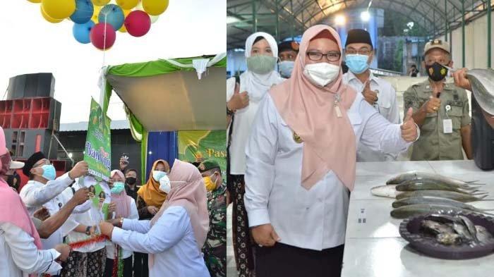 Wabup Gresik Ning Min Buka Pasar Bandeng Serentak di 10 Titik, Lelang Bandeng Asli Gresik pada 7 Mei