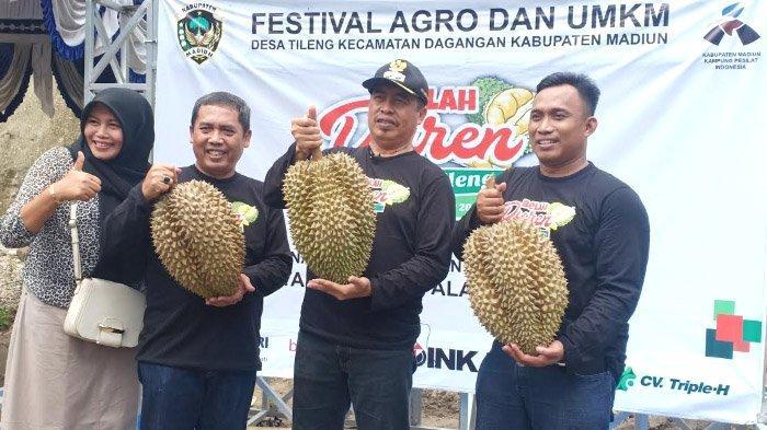 Festival Belah Duren Kabupaten Madiun: Durian Kuwuk dan Durian Merica Jadi Andalan, ini Perbedaannya