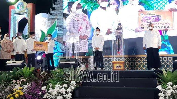 Juara Kontes Bandeng Disabet Petani Mengare Gresik, Dibeli Wali Kota Surabaya Rp 25,5 Juta