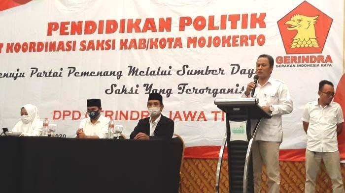Gerindra Jatim Turun Gunung, Siapkan Saksi di 2.084 TPS Kawal Suara Ikbar di Pilkada Mojokerto 2020