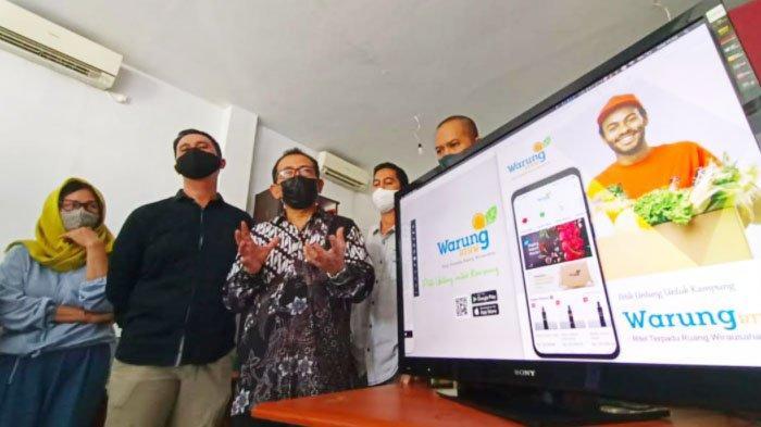 Warung RT RW, Warung Digital Ciptaan Warga Bangkit dari Pandemi,AH Thony: Untungnya untuk Kampung