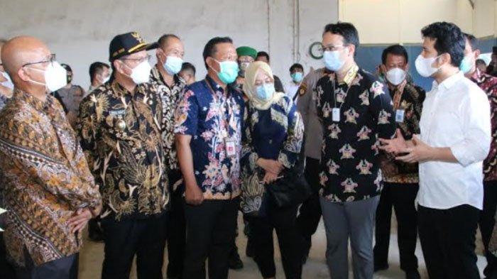 Kunjungi Lamongan, Wamendag Jerry Sambuaga Ingin Optimalkan SRG untuk Sejahterahkan Petani