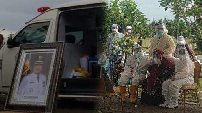 Tangis Istri Wali Kota Banjarbaru Pecah di Makam Suami, Nadjmi Adhani Meninggal Kena Virus Corona