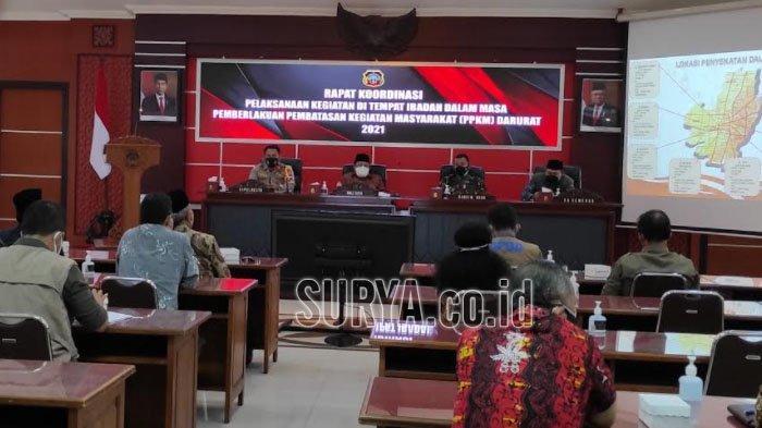Wali Kota Blitar Santoso Imbau Warga Laksanakan Salat Idul Adha di Rumah