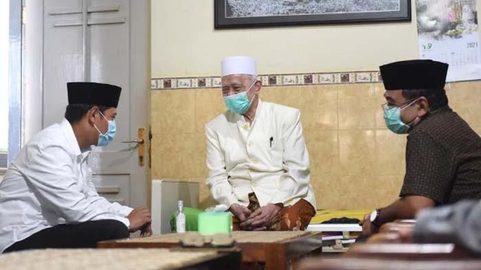 Sowan Tokoh Ulama, Wali Kota Kediri Abdullah Abu Bakar Mohon Dukungan Kendalikan Covid-19