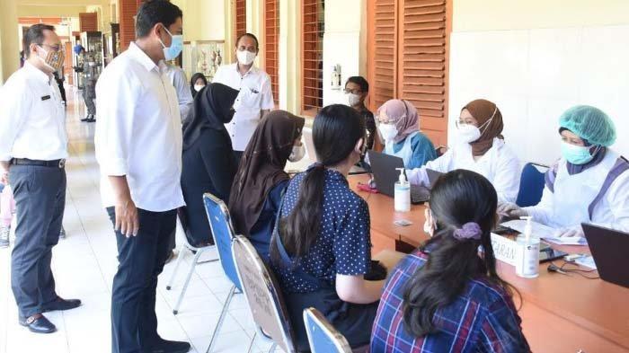 Percepat Kekebalan Komunal, Gandeng Pemkot Kediri, Pemprov JatimGelar Vaksinasi Massal Pelajar SMA