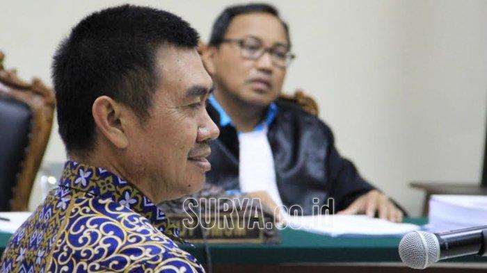 Jalani Sidang di Pengadilan Tipikor, Wali Kota Malang Nonaktif M Anton Dituntut Tiga Tahun Penjara