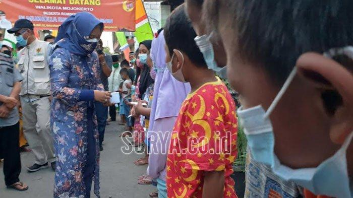 Di Kota Mojokerto, Anak-anak yang Patuh Protokol Kesehatan Dapat Reward Uang Jajan
