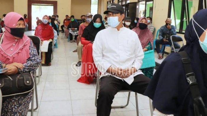 Wali Kota Pasuruan Gus Ipul Pastikan Penyaluran BST Sesuai Protokol Kesehatan