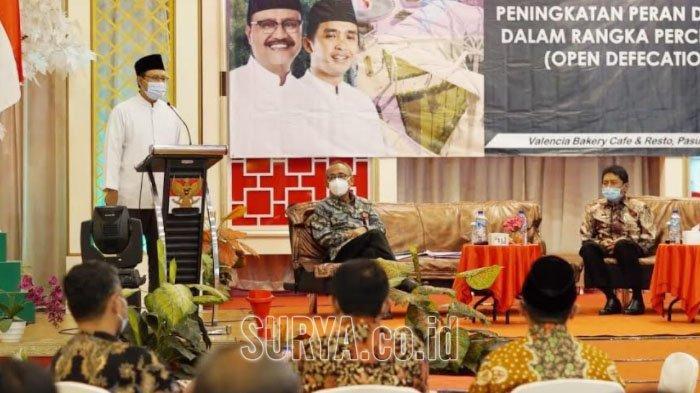 Gus Ipul Ajak Forum CSR Bantu Pemkot Selesaikan Masalah Jamban Bersih di Kota Pasuruan