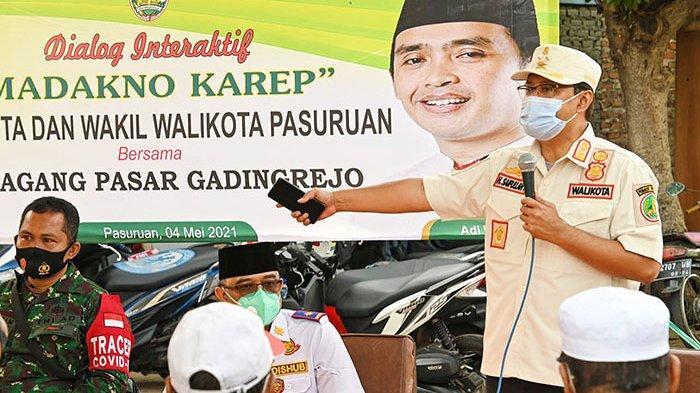 Gus Ipul Siapkan Solusi Atasi Masalah di Pasar Gadingrejo Pasuruan