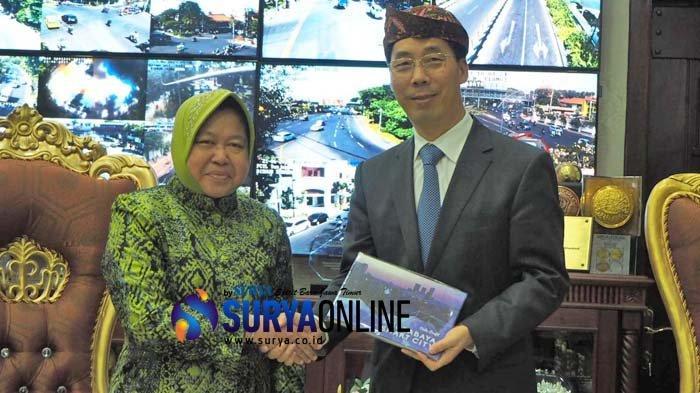 Pemkot Chengdu Tawarkan Kerja Sama Sister City dan Beasiswa ke Pemkot Surabaya
