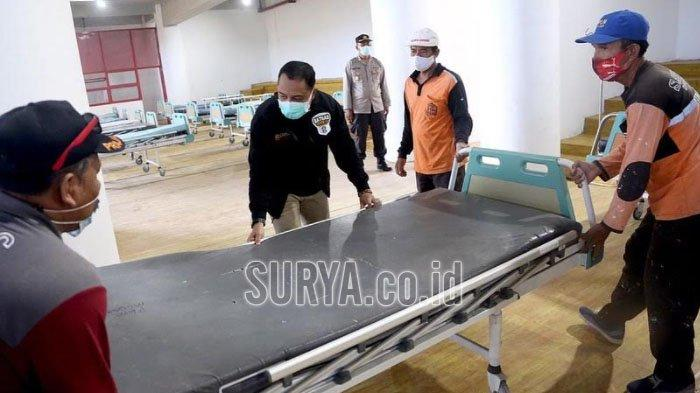 Pemkot Surabaya Gunakan Sekolah Jadi Tempat Isolasi Pasien Covid-19, Beroperasi Mulai Jumat
