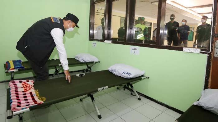 Rumah Sehat di Surabaya mulai Ditempati Pasien OTG, Perawatan Terpusat, Hindari Klaster Keluarga