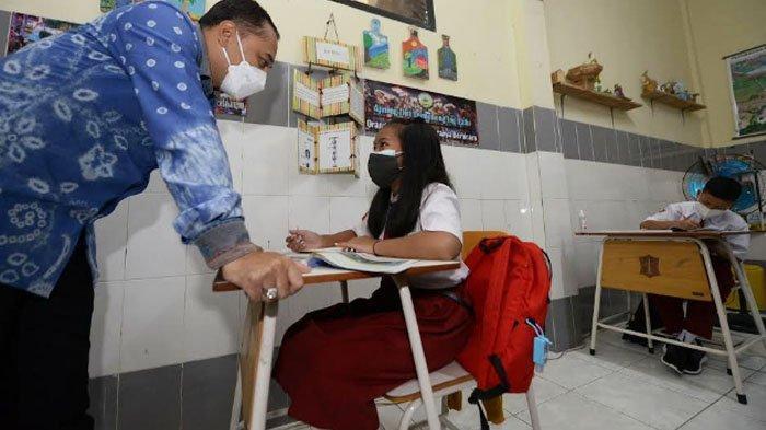 Pekan ini 112 SD di Surabaya Gelar PTM, Dindik Pastikan Tak Ada Kasus Covid-19 dari Klaster Sekolah