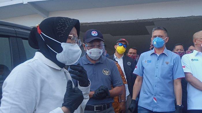 Risma Janji Renovasi Stadion GBT Surabaya Rampung Desember 2020, Menpora Zainudin Amali Senang