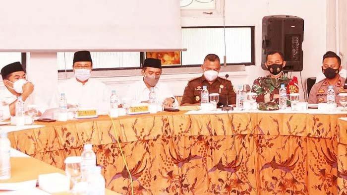 Pemkot Pasuruan Gelar Rakor Kelonggaran Ibadah Ramadan, Rumuskan  Aturan Tarawih di Tengah Pandemi