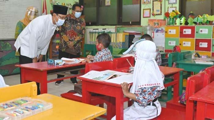 Kota Pasuruan mulai Buka Pembelajaran Tatap Muka Terbatas, Siswa Tak Boleh Jajan dan Wajib Diantar