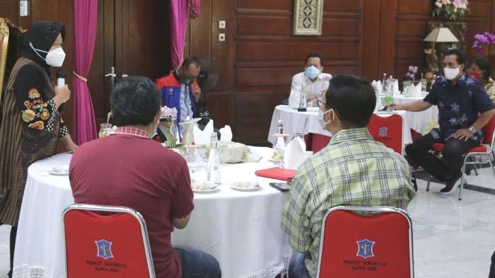 Reaksi Walikota Risma terkait Keluh Kesah Pekerja dan Buruh Surabaya akibat Dampak Covid-19