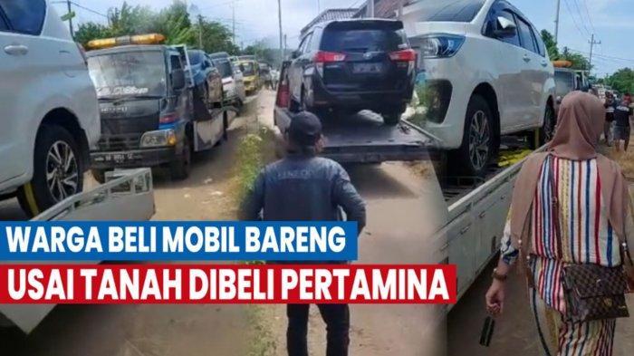 Para warga Desa Sumurgeneng, Kabupaten Tuban memborong 176 mobil baru dengan merek kebanyakan Toyota Innova. Mereka membeli mobil baru dari hasil menjual tanah ke Pertamina untuk pembangunan kilang minyak di Kecamatan Jenu, Tuban.