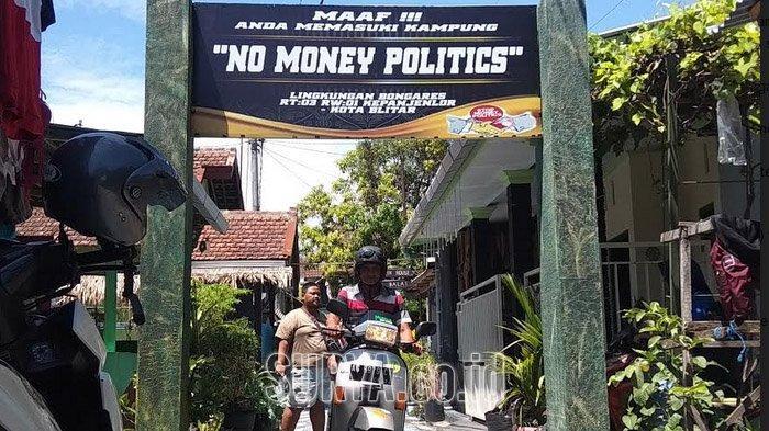 Ada Kampung Anti Politik Uang Jelang Pilwali Kota Blitar 2020, di Sini Lokasinya