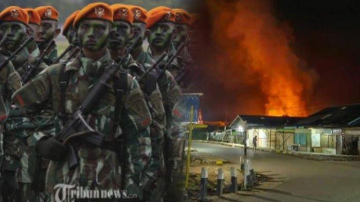 Kronologi Lengkap Anggota Paskhas TNI AU Kritis, 32 Bangunan Dibakar dan Satu Warga Tewas di Papua