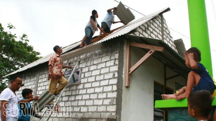 Warga Korban Puting Beliung di Pejangganan Bersyukur Tinggal di Dekat Lahan Tambak