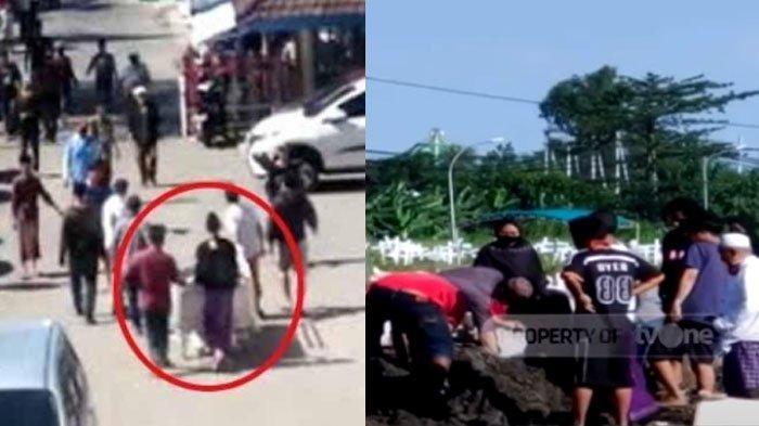 Fakta Anarkis Video Viral Warga Surabaya Ambil Paksa Jenazah Covid-19, Tim Medis Sampai Berlindung