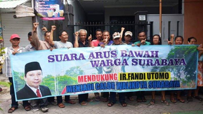 Arus Bawah Ingin FU Maju Pilwali Surabaya, Mengaku telah Komunikasi dengan Masyarakat 31Kecamatan