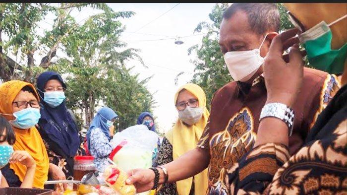 Wawali Surabaya Armuji Senang Lihat Semarak Warga Gelar Bazar Ramadan 2021 dengan Prokes
