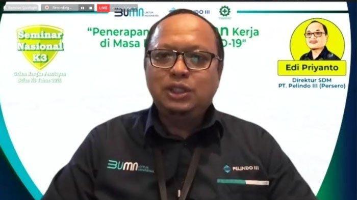 Ribuan Peserta Ikuti Webinar Penutup Rangkaian Bulan K3 Nasional Pelindo III