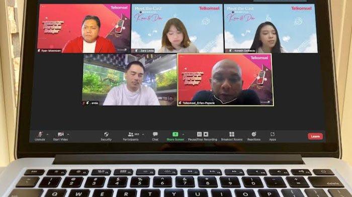 Hadirkan Bintang Kau dan Dia, Telkomsel Gelar Asyik Bersama Digital, Maksimal dengan Merdeka Belajar