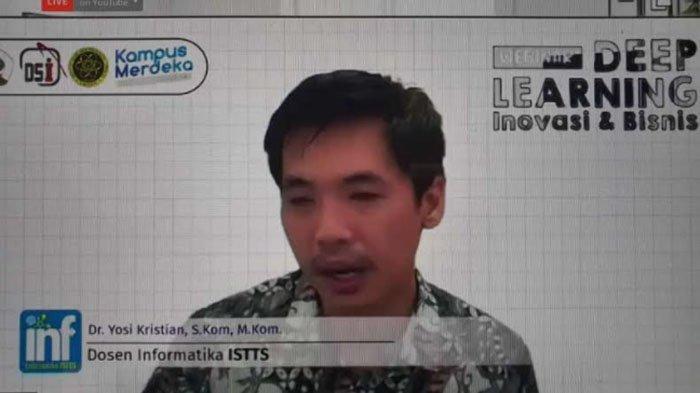 Mahasiswa Lintas Studi Ikuti Webinar Deep Learning yang Digelar Untag Surabaya dan iSTTS