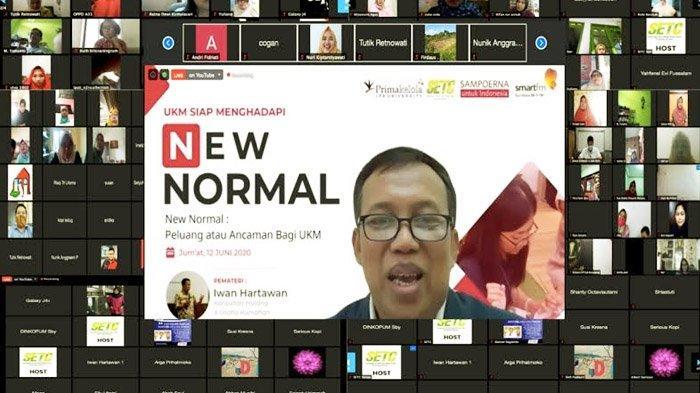 NEW NORMAL: Peluang atau Ancaman Bagi UKM, Sampoerna Entrepreneurship Training Center Gelar Webinar