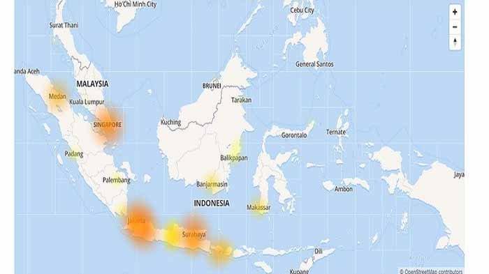 WhatsApp (WA), Instagram, dan Facebook Gangguan, Ini Daftar Daerah yang Terdampak Kebijakan Kominfo