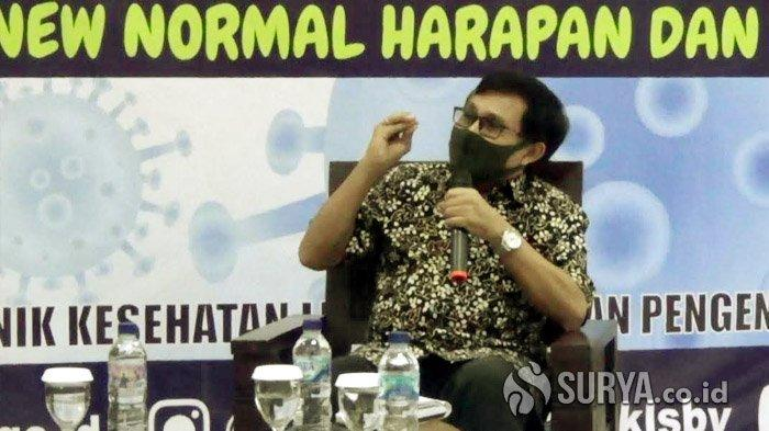 Pakar Epidemiologi Unair Dr Windhu Purnomo Komentari Soal Turunnya Level PPKM di Kota Surabaya