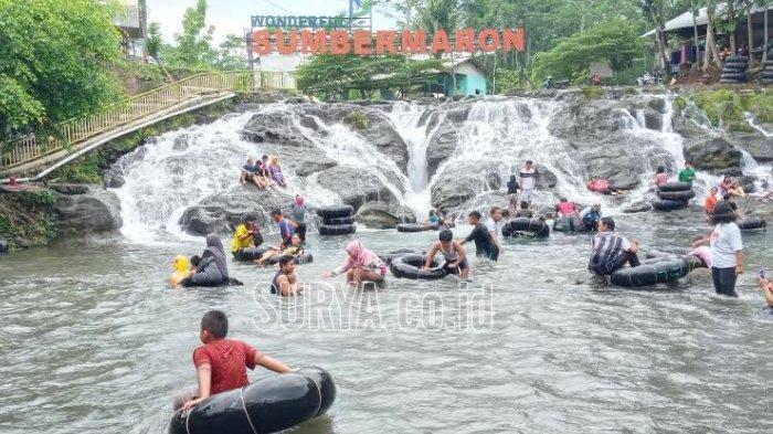 Usai Coblosan Pilkada 2020, Wisata Sumber Maron Kabupaten Malang Dibanjiri Pengunjung