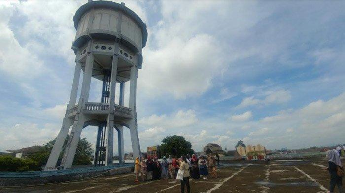 Berwisata di Menara Air Raksasa Pasar Tanjung, Bukti Kemegahan Pencakar Langit Jember Masa Lalu