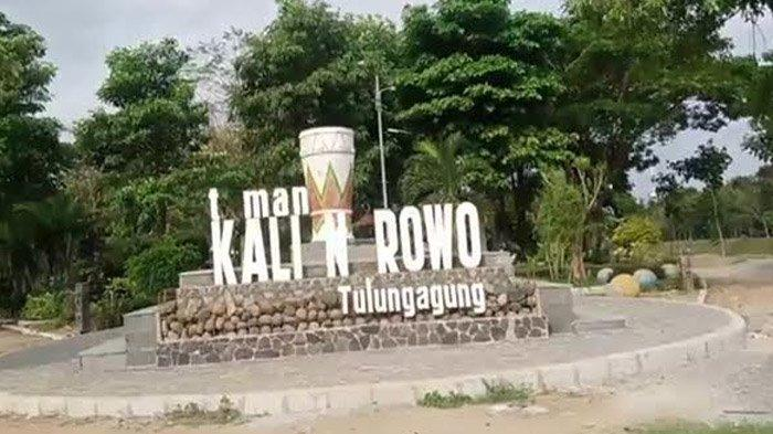 Taman Kali Ngrowo Tulungagung Bakal Makin Nyaman Usai Dibenahi, Meski  Dibayangi Masalah Lampu Pecah