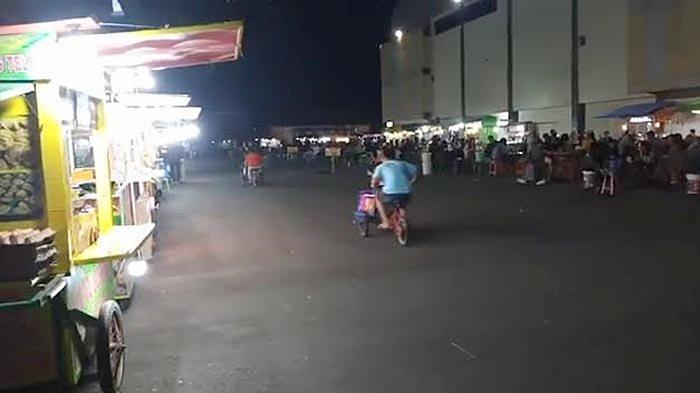 Wisata Malam di GOR Lembupeteng Tulungagung Mulai Bangkit, Satgas Covid-19 Melakukan Pemantauan